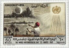 Libia libia 1969 274 359 omm World met Day Wether Balloon mnh