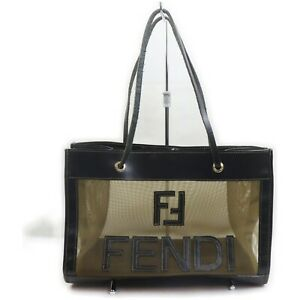 Fendi Tote Bag  Black Nylon 1604786