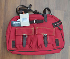 Petit Planet Canvas Urban Dia Maternity/Changing Bag in Red