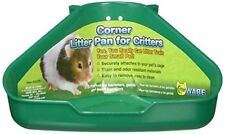 Ware Bird-Sm An-Corner Litter Pan For Critters- Assorted 6.5x4.5x3""