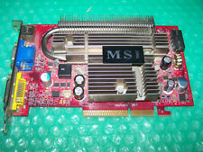 MSI GeForce 7600GS 512MB AGP graphics card, Win 7/8 compatible