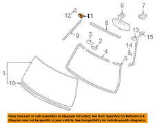 TOYOTA OEM 07-14 FJ Cruiser Windshield-Reveal Molding Retainer 7556335010