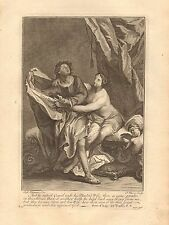 1770  ANTIQUE PRINT -BIBLE- GEN 39,AND HE REFUSED AND SAID UNTO HIS MASTERS WIFE