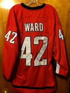 Joel Ward Washington Capitals #42 Signed Jersey Stitched XL No COA