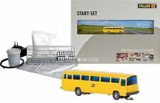 FALLER CAR SYSTEM N (162008): Starter Set MB O302 Bus POSTALE (WIKING)