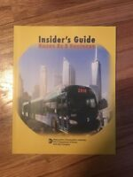 MTA Insiders Guide Buses As A Business 2016 NYC New York City Transit Bus Book