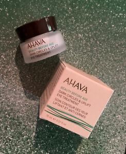 AHAVA Beauty Before Age Dark Circles & Uplift Eye Treatment 15mL / .51 Oz ~ NIB