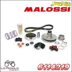 6114219 Gruppo trasmissione MALOSSI OVER RANGE PIAGGIO NRG Power DD 50 2T LC
