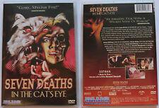 SEVEN DEATHS IN THE CAT'S EYE BLUE UNDERGROUND REGION 1 NTSC DVD
