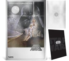 Star War A New Hope Silver Foil