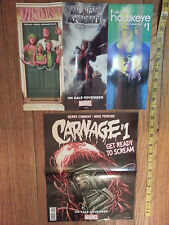 2 for 1 Price New Carnage/Vision-Black Knight-Hawkeye Marvel Dual Promo Posters