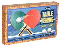 Table Tennis Set 2 Bats 3 Balls Plus Net Kids Fun Ping Pong New Boxed