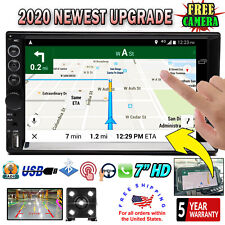 7 inch HD touch Screen Car Stereo Mirror Link Bluetooth MP5 Radio + Rear Camera