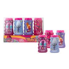 Dreamworks Trolls 4X Pack Bath & Shower Gel Gift