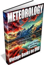 METEOROLOGY ~ Vintage Books on DVD ~ Weather, Forecast, Meteorologist, Weather