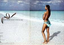 PUBLICITE ADVERTISING 016  1996  Hermès  carré de soie  (2p)