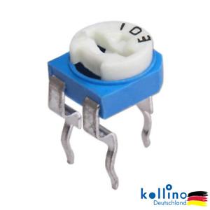 RM065 Potentiometer Trimmer Trimmpoti verschiedene Werte von 100 Ohm - 1 MOhm