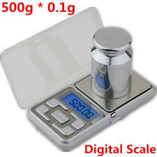 Digital Scale DIYcrafts500g*0.1g LCD Pocket Jewelry-Cell Phone Scales Electronic