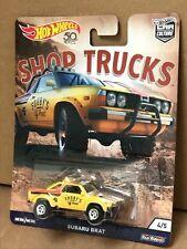 HOT WHEELS DIECAST - Car Culture Shop Trucks - Subaru Brat