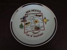 """Vintage New Mexico """"Land of Enchantment"""" Collector Plate (Cat.#2B023)"""