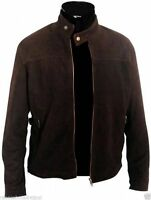 Mission Impossible 3 Tom Cruise Brown Suede Leather Jacket