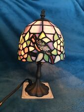Tiffany Style Lamp Decorated With Birds