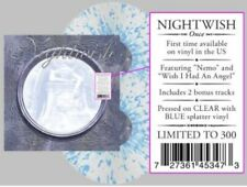 Nightwish ‎- Once 2 x LP LMTD 300 Clear Blue Splatter Colored Vinyl Album Record