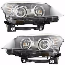 BMW 5 SERIES E60 2008-2010 RIGHT LEFT HEADLIGHTS HEAD LIGHTS LAMPS PAIR NEW