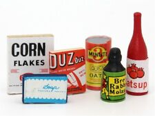 Food Provisions, Dolls House Miniature Foods, Accessory Kitchen Dining