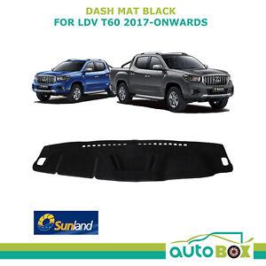 DashMat for LDV T60 8/2017 Onward Black Sunland Dash Mat Protection