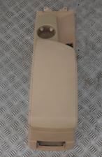 BMW X3 Serie E83 Ant. Bracciolo Centrale Console in pelle Beige