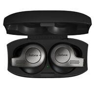 Jabra Elite 65T Bluetooth Wireless In-Ear Earbuds Sound+ APP - Titanium Black