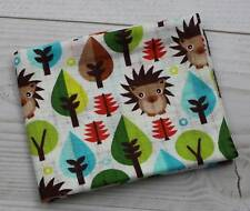 Super Soft Printed Muslin Squares 100 Natural Cotton Large XXL Made in EU 70x80 Owl on White Background