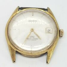 Vintage Medco Gold Plated Mens Automatic Wrist Watch by Jaquet Girard