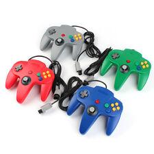 4 Pcs. Controller Gamepad f. N64 4 Farben: grün, blau, rot, grau