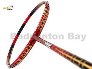 RSL Falcon 888 Red Gold (4U-G5) Badminton Racket Racquet String+Grip