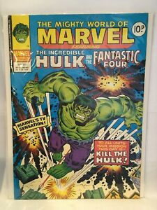Mighty World of Marvel Featuring Incredible Hulk #312 Marvel UK Magazine