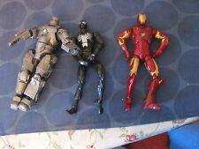 Marvel lot of 3 figures Iron Man Spider-man Legends size movie figures classics