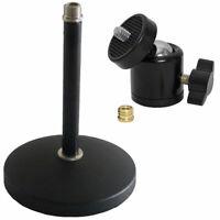 """keepdrum Tischstativ Mikrofonständer + Kugelgelenk Stativ-adapter 1/4"""" 3/8"""""""