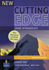 New Cutting Edge Upper Intermediate Students Book and CD-Rom Pack by Peter...