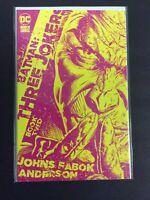 Batman Three Jokers #2 DC Comics 1:25 Jason Fabok Yellow Variant Cover