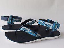 Teva Original Womens Pyramid Blue Sport Sandals, size 9 NEW