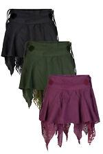 New pixie mini skirt pointy hem skirt festival flamenco skirt up to PLUS size