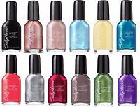 SALLY HANSEN Nail Polish HARD AS NAILS Color/Enamel *YOU CHOOSE* Discontinued