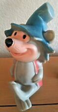 1960s Ideal Toy Mushmouse Vinyl Figure Squeeze Toy Hanna Barbera Punkin Puss