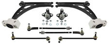 FOR AUDI A3 WISHBONE CONTROL ARM KIT + BALL JOINT + ROD STRUT+TIE ROD KIT FRONT