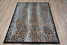 Quality Leopard Rug 150cm x 100cm Jungle Safari Animal Leopard Skin Print Twist