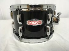 "Pearl e-Pro 10"" Dia X 6.5"" Deep Mounted Tom/Finish #31/Jet Black/Brand New"