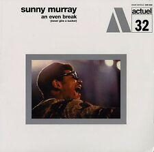 SUNNY MURRAY An Even Break (never give a sucker) ACTUEL Sealed Vinyl Record LP