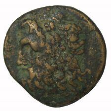 Epeiros Pyrhos 297-272 BC AE20 Zeus Thunderbolt Ancient Greek Coin